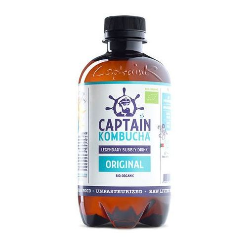 Captain kombucha Napój original bio 400ml