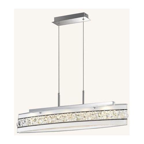 Lampa wisząca Italux Franco P29396-1A zwis 1x3W SMD LED biała, P29396-1A