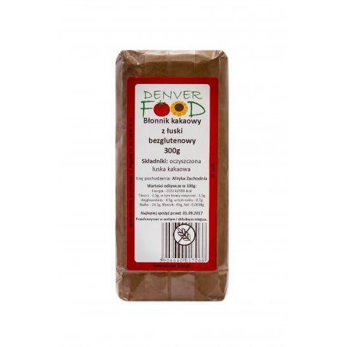 Błonnik kakaowy z łuski bezglutenowy 300g marki Denver food