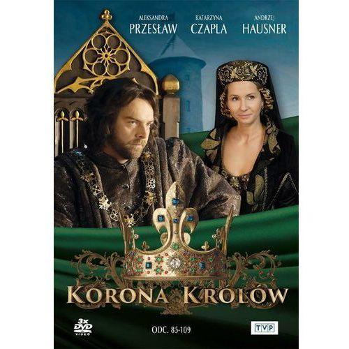Korona Królów Sezon 1 Odcinki 85-109 (3DVD) (5902739669747)