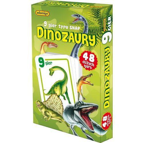 ADAMIGO Gra Karty Snap Dinozaury, AM_5902410006533