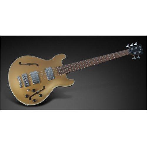 star bass 5-str. solid gold metalic high polish, fretted - long scale gitara basowa marki Rockbass