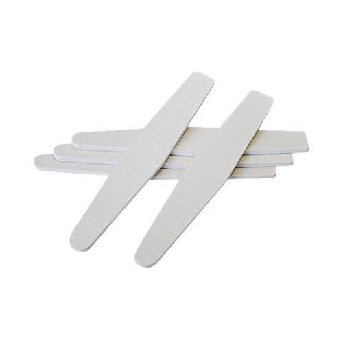 Pilnik do paznokci trumienka biały 80/100 - produkt z kategorii- pilniki i polerki do paznokci