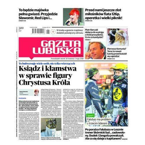 Gazeta Lubuska - B Żary, Żagań, Nowa Sól, Wschowa, Głogów, Polkowice 100/2018