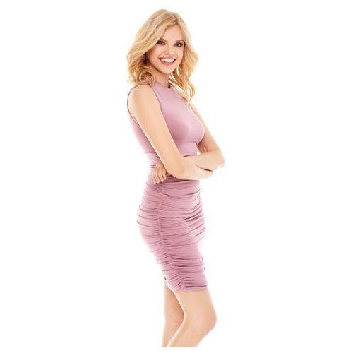 Sukienka katya w kolorze różowym, Sugarfree