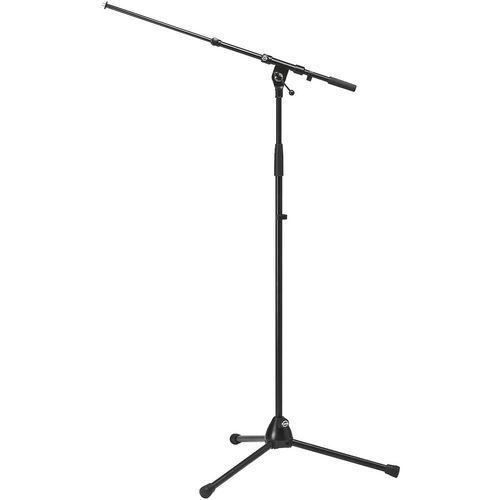 MONACOR KM-210/9 - Podłogowy statyw mikrofonowy, (4016842201419)