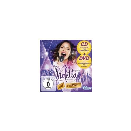 Violetta: live in concert, 1 audio-cd + dvd (deluxe edition). staffel.2/2 marki Universal music