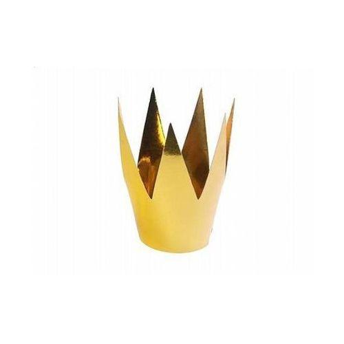 Korona królowej Party - złota - 1 szt.