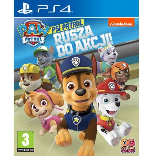 Psi Patrol Rusza do akcji! (PS4)