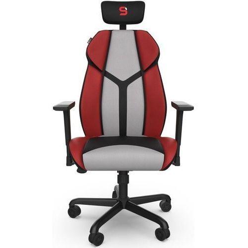 Fotel dla gracza SPC Gear EG450 CL czarno-czerwono-szary (5903018661049)