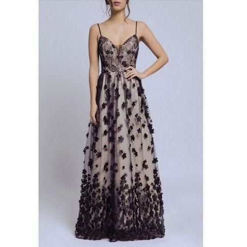 Soky soka sukienka czarny 56002-2 marki Soky&soka