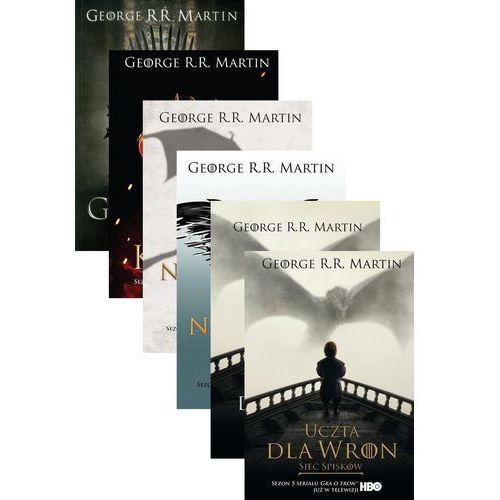 Gra o tron (okł. filmowa), George R. R. Martin