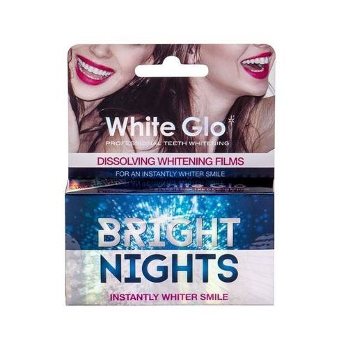 White Glo Bright Nights Whitening Films zestaw 6 szt unisex (9319871000868)