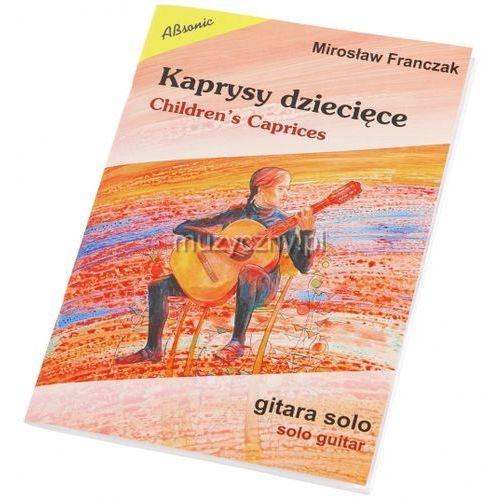 franczak mirosław ″kaprysy dziecięce - gitara solowa″ książka marki An