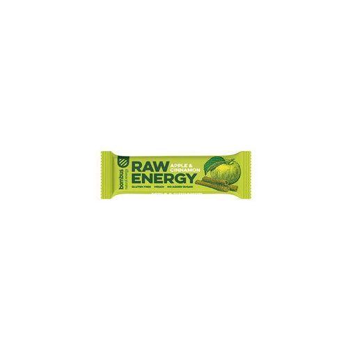 Baton RAW ENERGY jabłko-cynamon BEZGL. 50 g - Bombus (8594068261050)