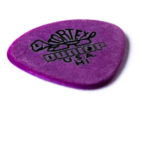Dunlop tortex jazz i pick, kostka gitarowa, heavy, round tip
