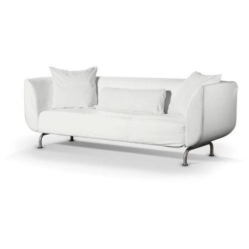 Dekoria pokrowiec na sofę strömstad 3-osobową, old white (kremowa biel), sofa stromstad 3-osobowa, cotton panama