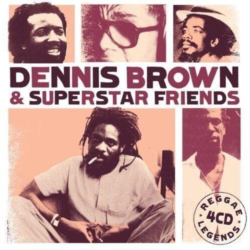 Reggae legends - brown & superstar friends, dennis (płyta cd) marki Vp