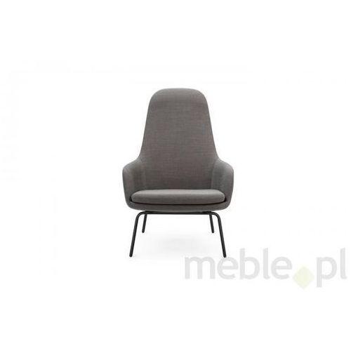 Fotel Era Stalowy z Wysokim Oparciem gabriel-breeze fusion Normann Copenhagen 602859 - produkt dostępny w Meble.pl