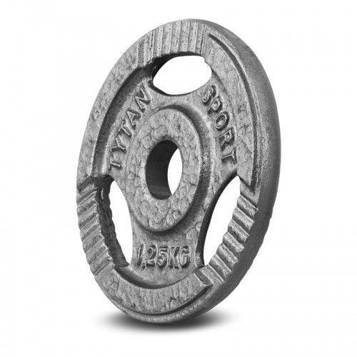 Tytan sport Obciążenie żeliwne kierownica 1,25 kg