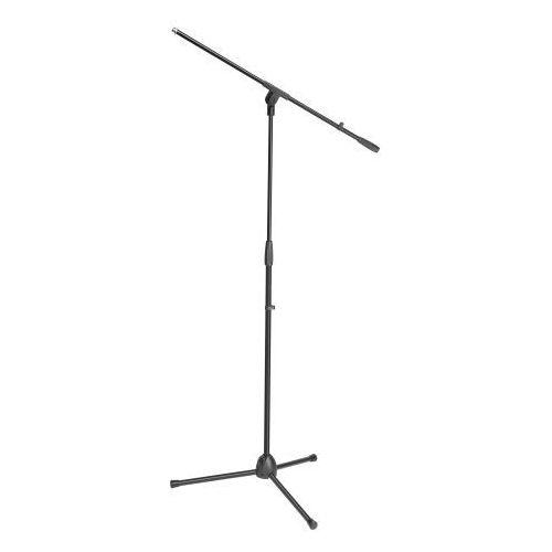 stands s 5 be - stojak mikrofonowy z ramieniem wychylnym, czarny marki Adam hall