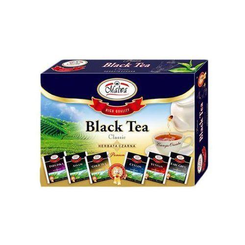 Herbaty malwa Bombonierka czarna malwa herbata na prezent black