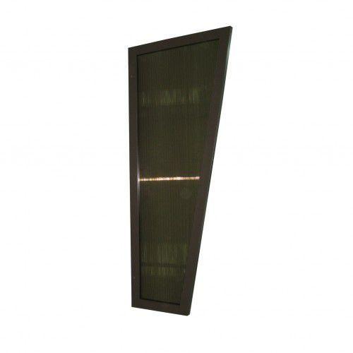 Metal-gum Ścianka boczna do daszka zadaszenia drzwi 180 x 53 x 32