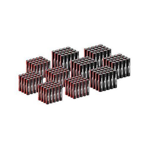 Ansmann Zestaw Baterie przemysłowe - alkaliczne - AAA LR03 - 100 szt. + AA LR06 - 100 szt. 1501-0004-SET4 - 3 LATA GWARANCJI