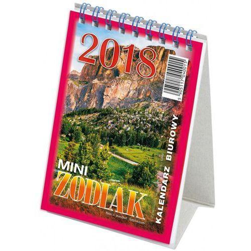 Kalendarz biurowy 2018 Mini Zodiak mix wzorów, 15487