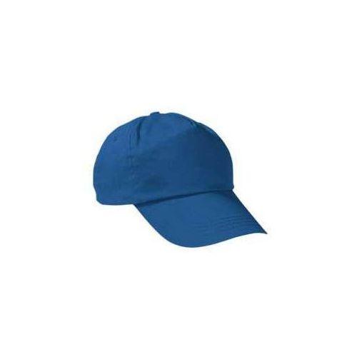 Czapka z daszkiem bawełniana bawełna bejsbolówka dziecięca młodziewa dorosła dzieciece niebieski-royal-blue, kolor niebieski