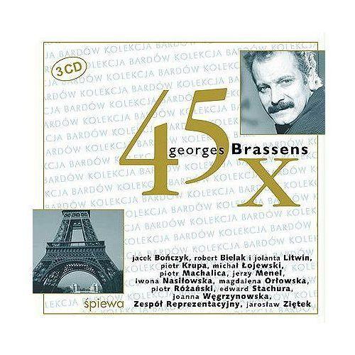 45 x Georges Brassens (CD) - Agencja Artystyczna MTJ (5906409900345)