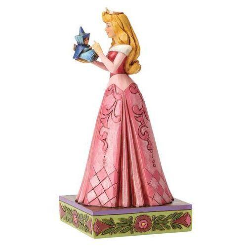 Aurora, bajki disneya, śpiąca królewna, wonder and wisdom (aurora with fairy figurine) 4054275 marki Jim shore