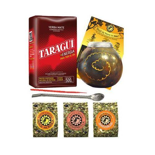 Zestaw taragui + mate green + tykwa + bombilla marki Yerba mate