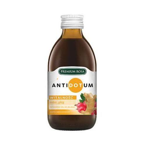 250ml antidotum witalność napój owocowo-ziołowy marki Premium rosa