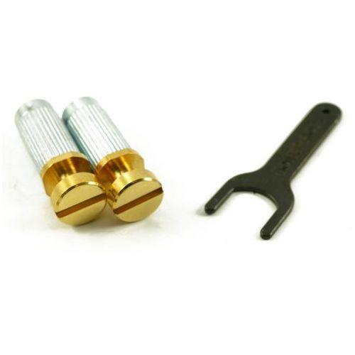 TonePros VGS1-G - G-Style Locking Studs, części mostka do gitary, złote