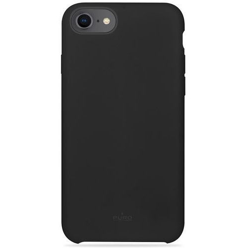 Puro icon cover - etui iphone 8 / 7 / 6s / 6 (czarny) limited edition (8033830261596)
