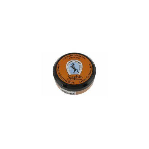 Regenerujące mydło do skór + gąbka - ETALON NOIR 100ml SAPHIR, 870