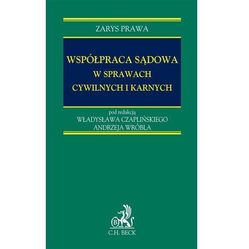 Współpraca sądowa w sprawach cywilnych i karnych - Władysław Czapliński, Andrzej Wróbel (2007)