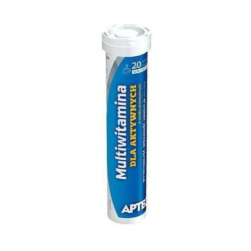 Tabletki APTEO Multiwitamina dla aktywnych o smaku ananasowym x 20 tabletek musujących