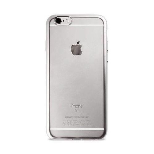 PURO Satin Cover - Etui iPhone 6/6s (Silver), kolor PURO
