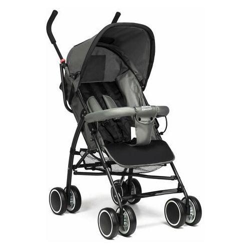 Wózek spacerówka Moolino Compact Czarno-szary