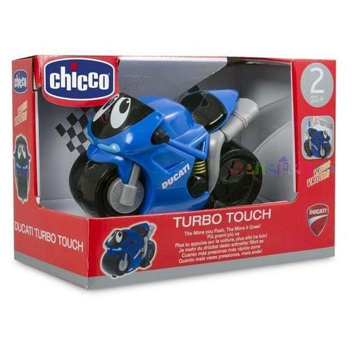 Motor Turbo Touch Ducati niebieski - produkt z kategorii- motory