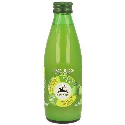 Alce nero (włoskie produkty) Sok z limonki bio 250 ml - alce nero