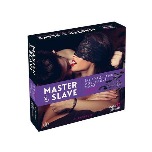 Gra erotyczna BDSM 10 elementów - Master & Slave Bondage Game PL