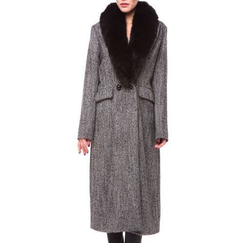 Silvian Heach Boufail Płaszcz Czarny XS