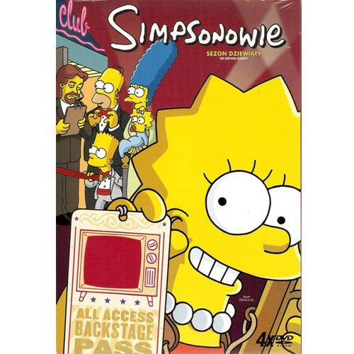 Simpsonowie - sezon 9 (DVD) - Imperial CinePix. DARMOWA DOSTAWA DO KIOSKU RUCHU OD 24,99ZŁ