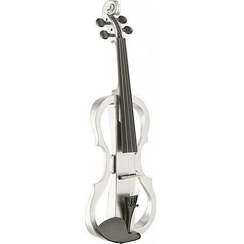 evn x 4/4 wh skrzypce elektryczne, komplet, kolor biały marki Stagg