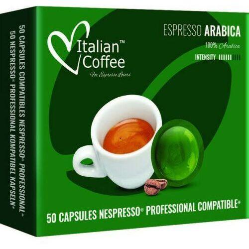 Espresso Arabica kapsułki kompatybilne z systemem NESPRESSO PROFESSIONAL – 50 kapsułek