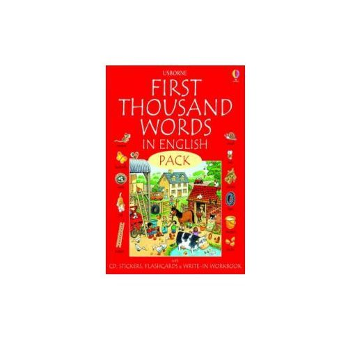 First 1000 Words Pack - English (9780746097724)