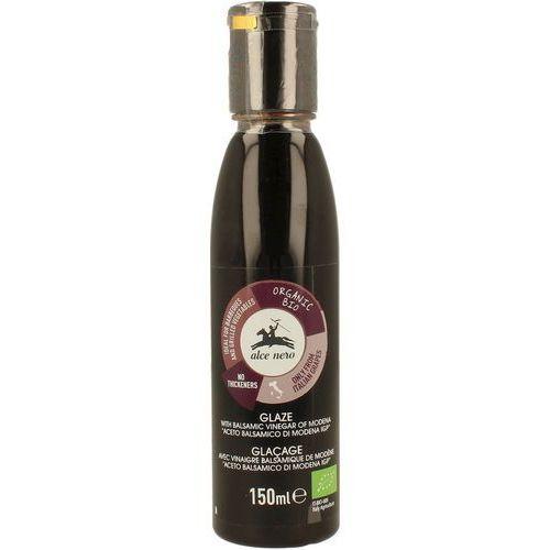 Alce nero (włoskie produkty) Krem na bazie octu balsamicznego z modeny bio 150 ml - alce nero (8009004811966)